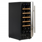 vinoteca 20 botellas vinobox 20 design lateral abierta