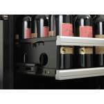 Vinoteca 198 botellas Dometic S118G doble temperatura detalle bandeja posicion vertical