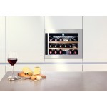 Vinoteca Liebherr WKEes553 GrandCru Inox 18 Botellas encastrable en columna copa vino