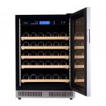vinoteca pevino 46 botellas p46s-hhss acero abierta bandejas