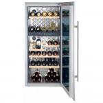 Vinoteca Liebherr WTEes2053 Vinidor 2 Zonas 64 Botellas encastrable en columna abierta