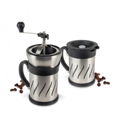 Cafetera Molinillo Paris Press uso moler duo