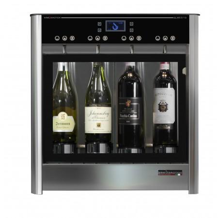Dispensador de vino por copas para 4 botellas Wineemotion Quattro