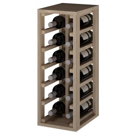 Botellero en columna Godello Petín 12 botellas ER2010