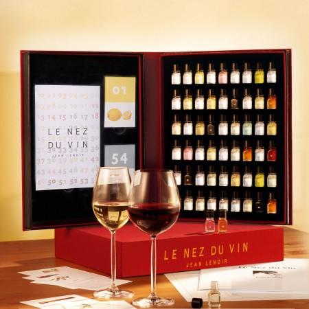 Libro 54 aromas Le Nez du Vin  caja y libro 2