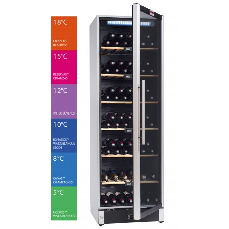 Wine Cooler 180 Bottles La Sommelière VIP180