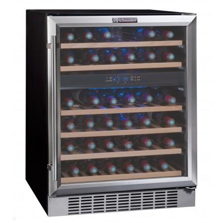 Vinoteca encastrable 45 botellas La Sommeliere temperaturas