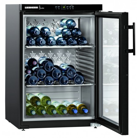 Wine Cooler 66 bottles Liebherr WKB1812 1 Zone Black