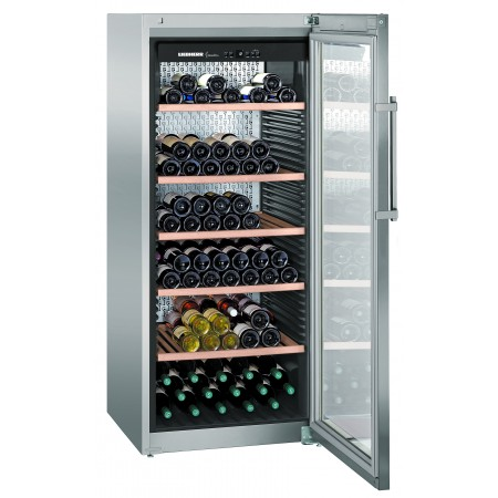 Wine Cooler 201 bottle Liebherr WKES4552 1 Zone Inox