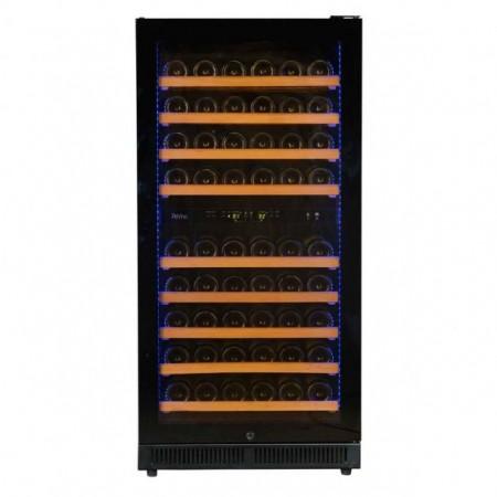 Vinoteca 90 botellas Pevino EVO PE80D-HHB Negro Doble zona temperatura