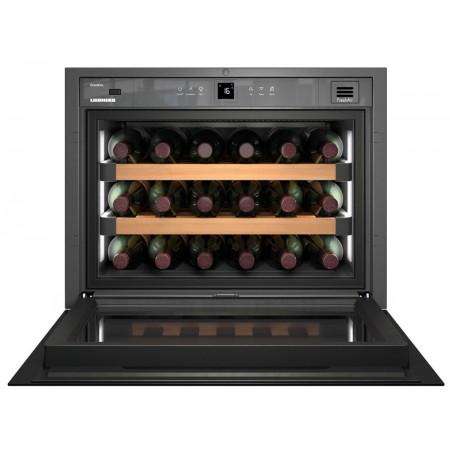 Embedded in column Wine Cooler 18 bottles WKEgb582 GrandCru