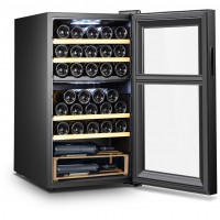 Wine Cooler 33 bottles SLS33DZ double temperature zone