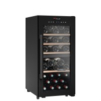 Wine Cooler 41 bottles CD41B1 double temperature zone