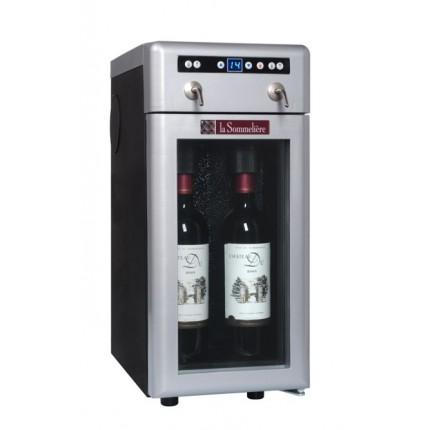 Dispensador de vino 2 botellas La Sommelière DVV22