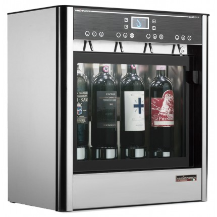 Dispensador de vino por copas para 4 botellas Wineemotion Quattro