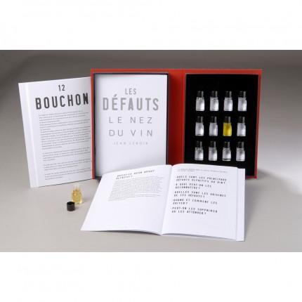 Libro 12 aromas defectos Le Nez du Vin caja y libro