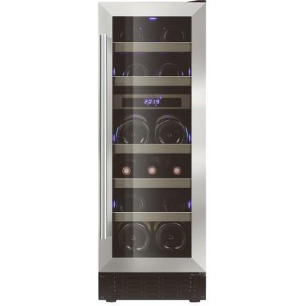 Double zone built-in wine cooler 16 bottles LB160 inox