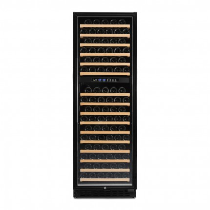Wine Cooler 168 Bottles Vinobox 168GC 2T Black