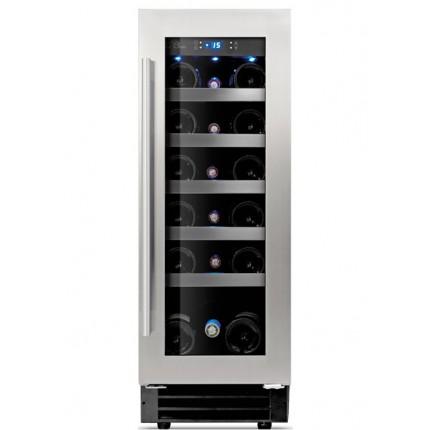 Built-in wine cooler 18 bottles LM180 inox