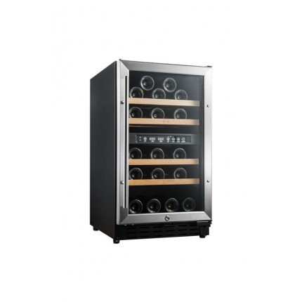 Vinoteca 33 botellas Vinobox 40GC 2T Encastrable