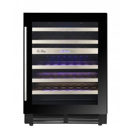 Built-in wine cooler 46 bottles LBN468 black
