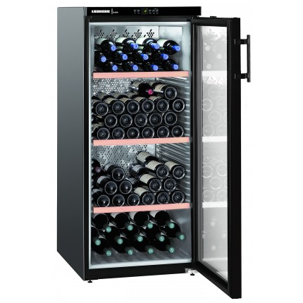 Wine Cooler 164 bottle Liebherr WKB3212 1 Zone Black