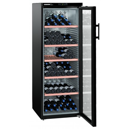 Wine Cooler 200 bottle Liebherr WKB4212 1 Zone Black