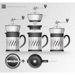 Cafetera Molinillo Paris Press design