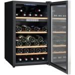 Vinoteca 52 botellas Climadiff CLS50 abierta