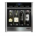 Dispensador de vino por copas para 4 botellas Wineemotion Due 2  frontal