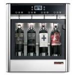 Dispensador de vino por copas para 4 botellas Wineemotion Quattro frontal