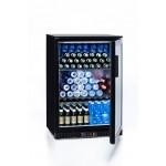 Mueble expositor de bebidas, vinos y cavas Cavanova 128 litros FB01 puerta abierta