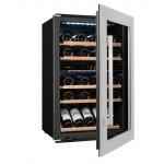 Vinoteca 52 botellas Avintage AVI47XDZ semiabierta llena