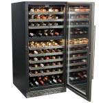 vinoteca 102 botellas cavanova CV120DT abierta