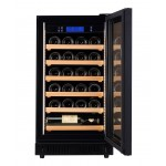 Vinoteca Pevino 24 botellas P22S-HHB Negro abierta