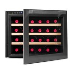Vinoteca vinobox 24 botellas 24 design frontal abierta