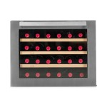 Vinoteca vinobox 24 botellas 24 design frontal cerrada