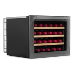 Vinoteca vinobox 24 botellas 24 design lateral cerrada