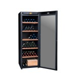 vinoteca 264 Botellas DVP265G Triple zona de temperatura-abierta-botellas