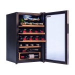 Vinoteca Vinobox 28 botellas 28GC lateral abierta