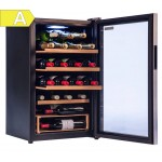 Vinoteca Vinobox 28 botellas 28GC lateral abierta EEA
