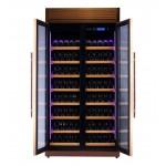 vinoteca-320-botellas-pevino-h320f-1t-g-oro-rosa-abierta