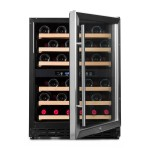 Vinoteca Vinobox 50 botellas 50GC 2T frontal abierta