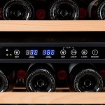 Vinoteca Vinobox 50 botellas 50GC 2T panel detalle