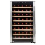 vinoteca 52 botellas cavanova cv052 vista frontal
