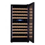 vinoteca-90-botellas-pevino-p80s-hhb negro multitemperatura abierta