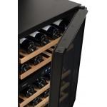 Vinoteca Avintage 50 botellas AVU53TDZA doble zona temperatura detalle puerta