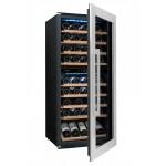 Vinoteca 79 botellas Avintage AVI81XDZ semiabierta llena
