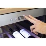 vinoteca caso design winechef 126 panel tactil