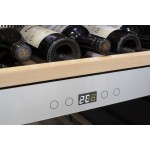Vinoteca 180 botellas Caso Design WineChef Pro180 panel